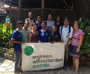 Engineers Without Borders, EWB, East Timor Leste, international development, community development, capacity building, environmental engineering, World Humanitarian Day, #whd2017, #worldhumanitarianday, #NotATarget