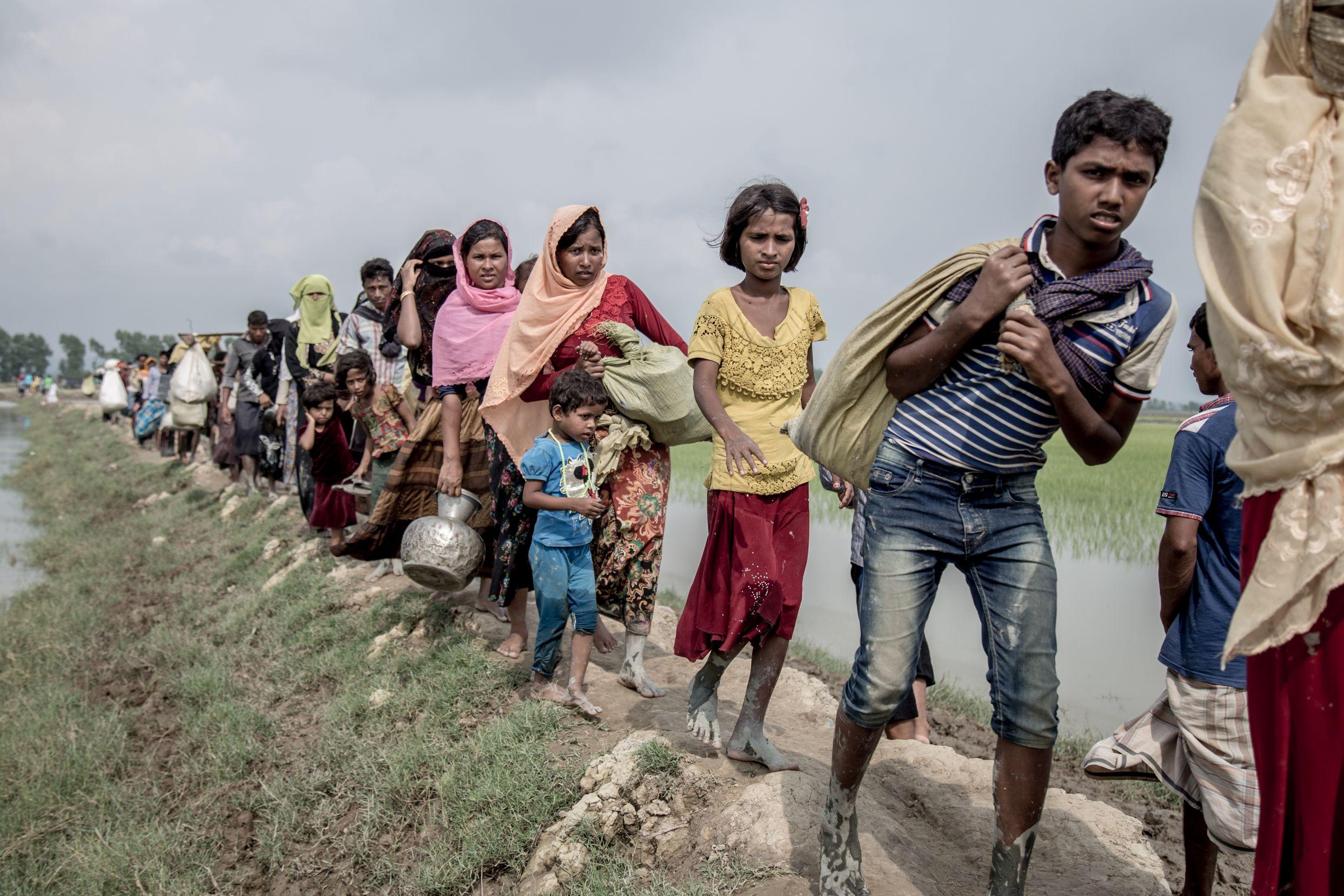 Care Australia, Rohingya, Myanmar, Bangladesh