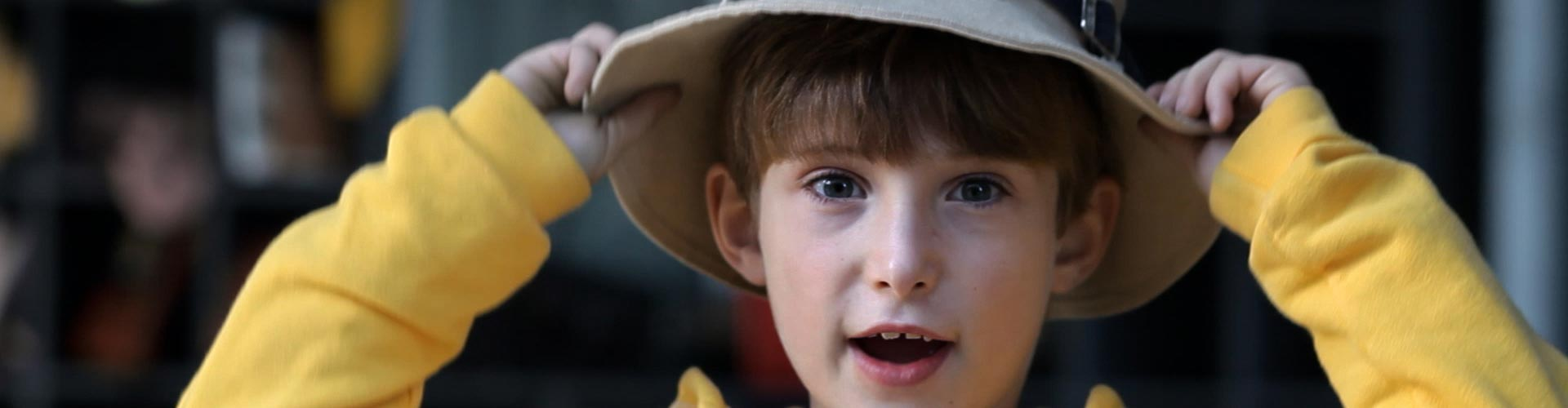 Image of boy from Cancer Council