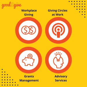 Flexible offerings in Good2Give's workplace giving solutions
